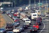 Automobile exhaust in urban areas contributes to serious air pollution in cities like Atlanta.