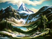 Trail Riders by Thomas Hart Benton.