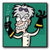mad scientist caricature