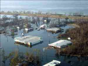 Hurricane Katrina flood picture