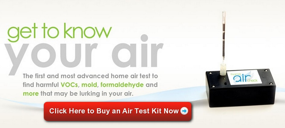 Image of Home Air Check Indoor Air Quality Test Kit