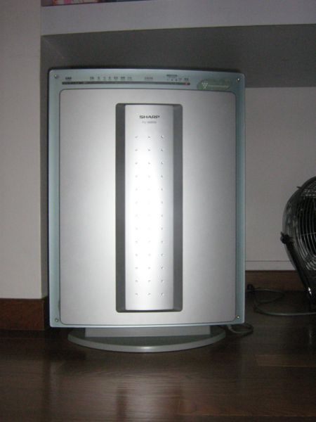sharp plasmacluster. sharp plasmacluster fpn60cx air purifier: ozone free, quiet, and powerful
