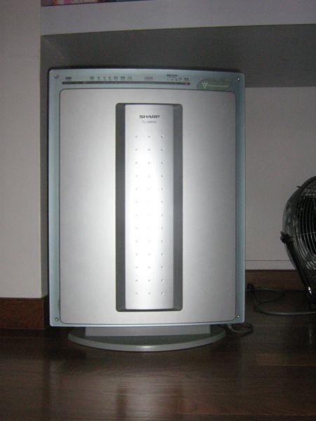 Sharp Plasmacluster Air Purifier.