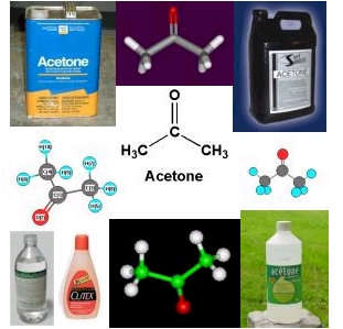 The complete guide to acetone,  2-Propanone, Dimethyl keton structure with complete Acetone MSDS information