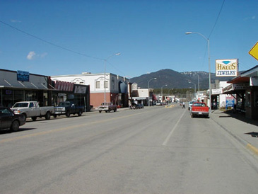 Downtown Libby Mt.