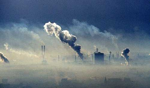 Ground level Ozone - major source of urban smog.