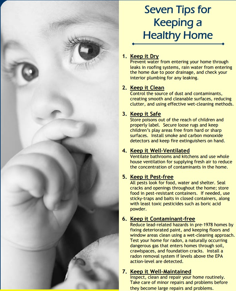 Baby Sucking Thumb and Healthy Home Tips