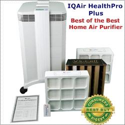 IQ Air HealthPro Plus HEPA Air Purifier