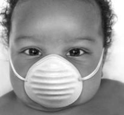 a dust mask is NOT the best air purifier for baby