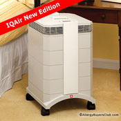iqair healthpro compact plus hepa air purifier