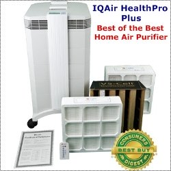 IQ Air HealthPro Plus HEPA Air Purifier